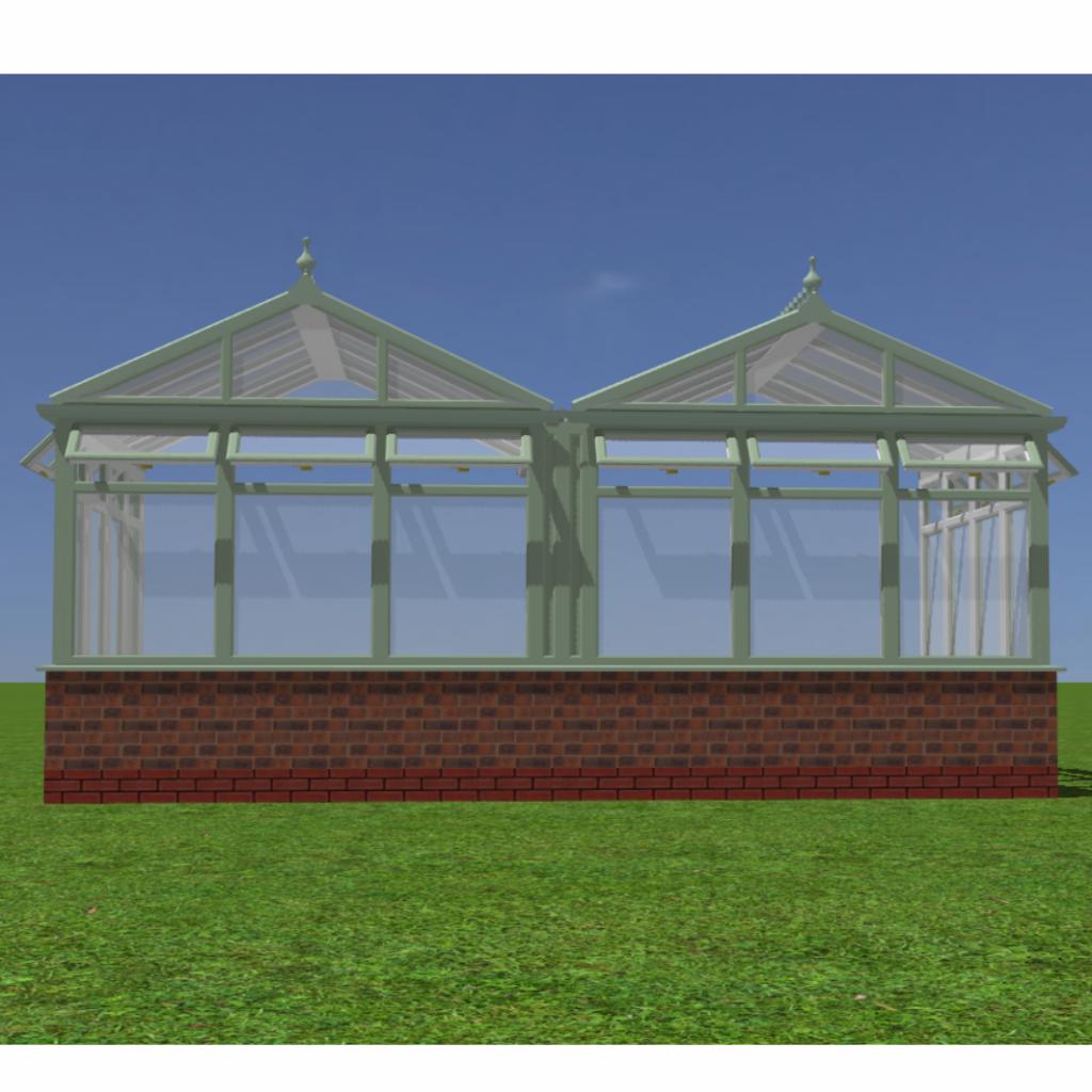 Conservatory 3D render image