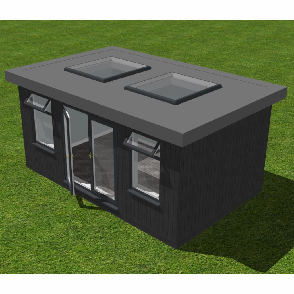 Garden Room 3D render image