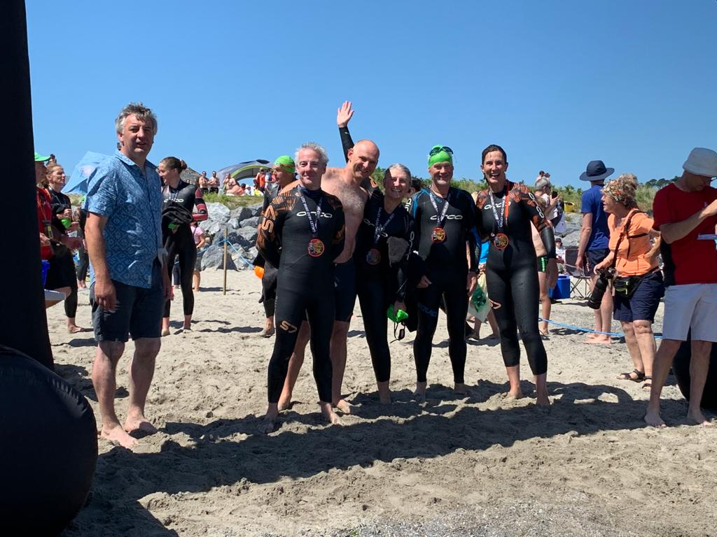 Read more about the article MD Dave Blakeman raises over £1500 on charity sea swim.